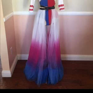 Dresses & Skirts - Harley Quinn Costume Skirt